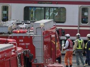 Japonya'da tren kazası: 30 yaralı