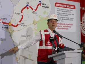 Göztepe-Ümraniye metro hattı çalışmaları yeniden başladı