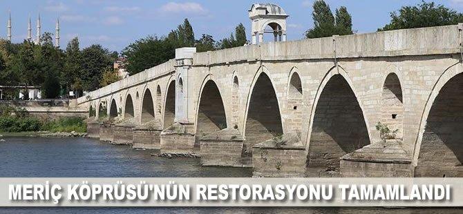 Meriç Köprüsü'nün restorasyonu tamamlandı