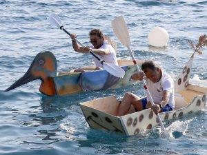 Muğla'da maket tekneler yarıştırıldı