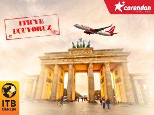 Corendon Airlines, ITB Berlin Turizm Fuarı'na Antalya ve İzmir'den uçuş düzenliyor