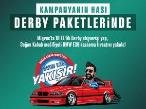 Derby'den, Türkiye'nin ilk modifiye araç kampanyası