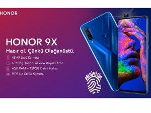 HONOR 9X özel hediyeler ile Türkiye'de