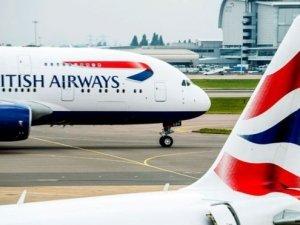 British Airways'te onlarca uçuş iptal