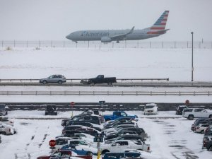 ABD'de Şükran Günü öncesi 55 milyon tatilciye kar fırtınası uyarısı