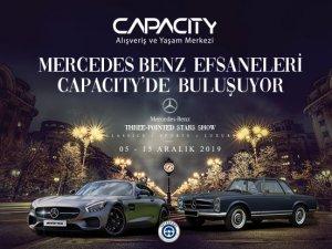 Mercedes-Benz 'Efsane Otomobiller Sergisi' Capacity AVM'de
