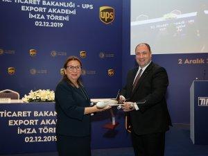 Ticaret Bakanlığı ve UPS iş birliği ile Export Akademi Programı