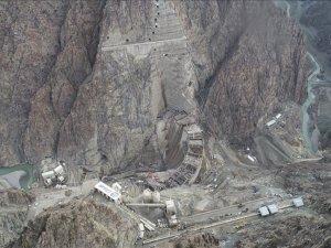 Yusufeli Barajı ve HES'in güncel görüntüleri paylaşıldı