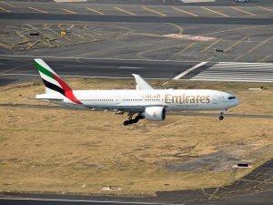 Emirates, Mexico City'ye iniş yaptı