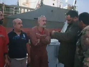Libya'da Hafter güçleri, mürettebatı Türk olan gemiye el koydu