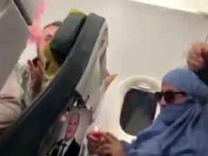 Uçakta 'Uçağı patlatacağım' diye bağıran kadına 10 yıl hapis istemi