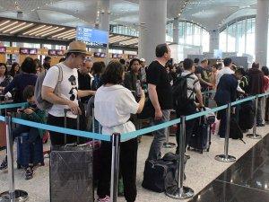 İstanbul Havalimanı'nda yılbaşı yoğunluğu