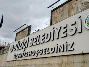 Düziçi Belediyesi, işgaliye bedeli uygulamasından vazgeçti