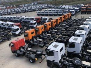 Çin'de ağır vasıta araç satışları 1.17 milyona ulaştı