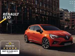 Yeni Renault Clio, en güvenli süpermini seçildi