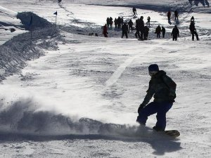 Denizli Kayak Merkezinde yarıyıl tatilinde yoğunluk bekleniyor