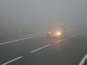 Bolu'da sis etkili oluyor: görüş mesafesi azaldı