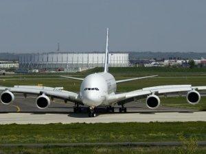 Airbus'tan tarihi test uçuşu