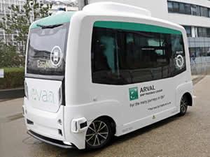 Arval'in sürücüsüz servis çözümü 'evaa' yola çıkıyor