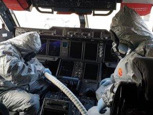 Çin'den gelen yolcu uçağını arıtma işlemleri tamamlandı