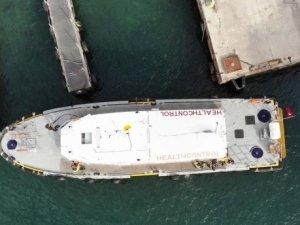 Sağlık Bakanlığı koronavirüse karşı limanlarda denetimlerini sürdürüyor