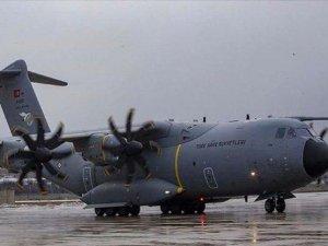 'TSK'ya ait uçak ve arama kurtarma ekipleri Van'a görevlendirildi'