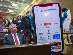 'Başkent Mobil' uygulamasının tanıtımı yapıldı