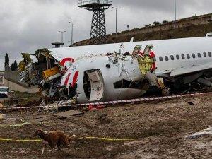 Uçak kazası soruşturmasında kaptan pilotun ifadesine daha sonra devam edilecek