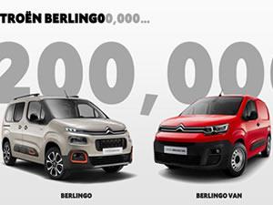 Citroen Berlingo, 200 bin satış adedine ulaştı