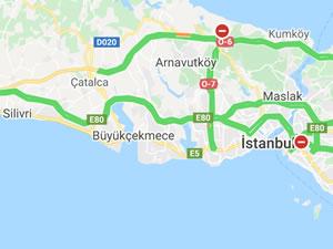 İstanbul trafiğinde tarihi değer