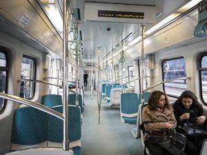 Marmaray ve Başkentray'ın yolcu sayısı düştü