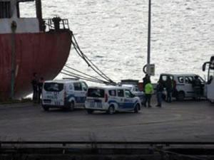Haydarpaşa'ya gelen geminin mürettebatı karantinaya alındı