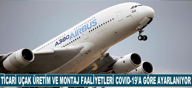 Ticari uçak üretim ve montaj faaliyetleri COVID-19'a göre uyarlanıyor