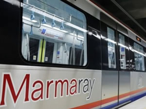 Marmaray'dan yük treni bugün geçecek