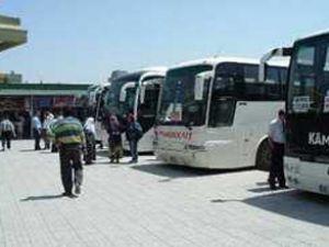 Kurban bayramı otobüsçüleri sevindirdi
