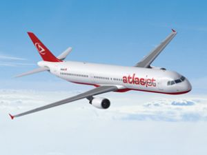 Atlasjet Ercan'dan Tahran'a direkt uçtu