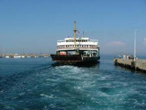 Yalova-Adalar vapur seferleri durduruldu