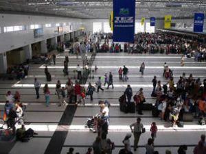 Antalya'ya uçakla 6 milyon yolcu geldi
