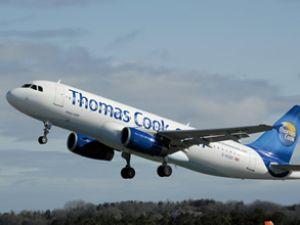 Thomas Cook uçağı faciadan döndü