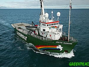 Greenpeace'ten Rusya'da devriye yok
