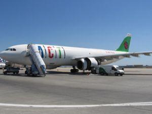 ACT uçağı Frankfurt'ta mahsur kaldı