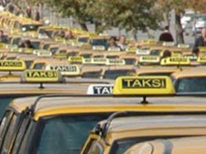 Taksicilerden teröre sessiz protesto