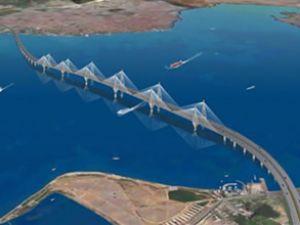 Körfez Köprüsü ile geçiş 6 dakika sürecek