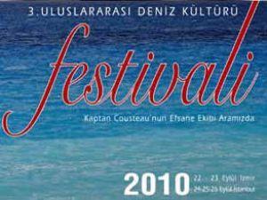 3. Deniz Kültürü Festivali yakında başlıyor