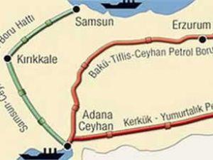 'Samsun-Ceyhan boru hattı görüşmeleri durdu'