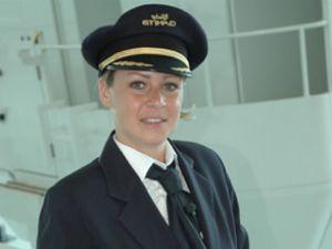Blanchard, Etihad'ın ilk kadın pilotu oldu