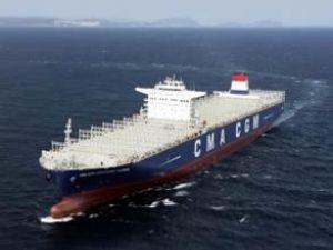 CMA CGM, yeni dev gemisini teslim aldı