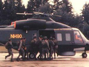 NATO Helikopteri Düştü: 9 Ölü