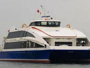 Çanakkale'de deniz otobüsü seferleri iptal