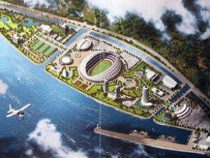 Trabzon'da denize stad yapılıyor